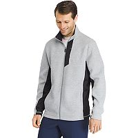 Big & Tall IZOD Advantage Regular-Fit Performance Shaker Fleece Jacket