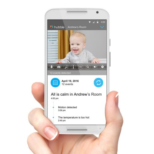 "Motorola 5"" Video Baby Monitor with WiFi"