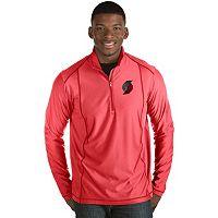 Men's Antigua Portland Trail Blazers Tempo Quarter-Zip Pullover