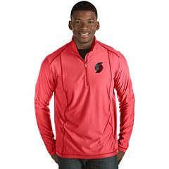 Men's Antigua Portland Trail Blazers Tempo Quarter-Zip Pullover