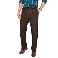 Men's Croft & Barrow® Flat-Front Corduroy Pants