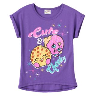 "Girls 7-12 Shopkins ""Cute & Cheeky"" Graphic Tee"