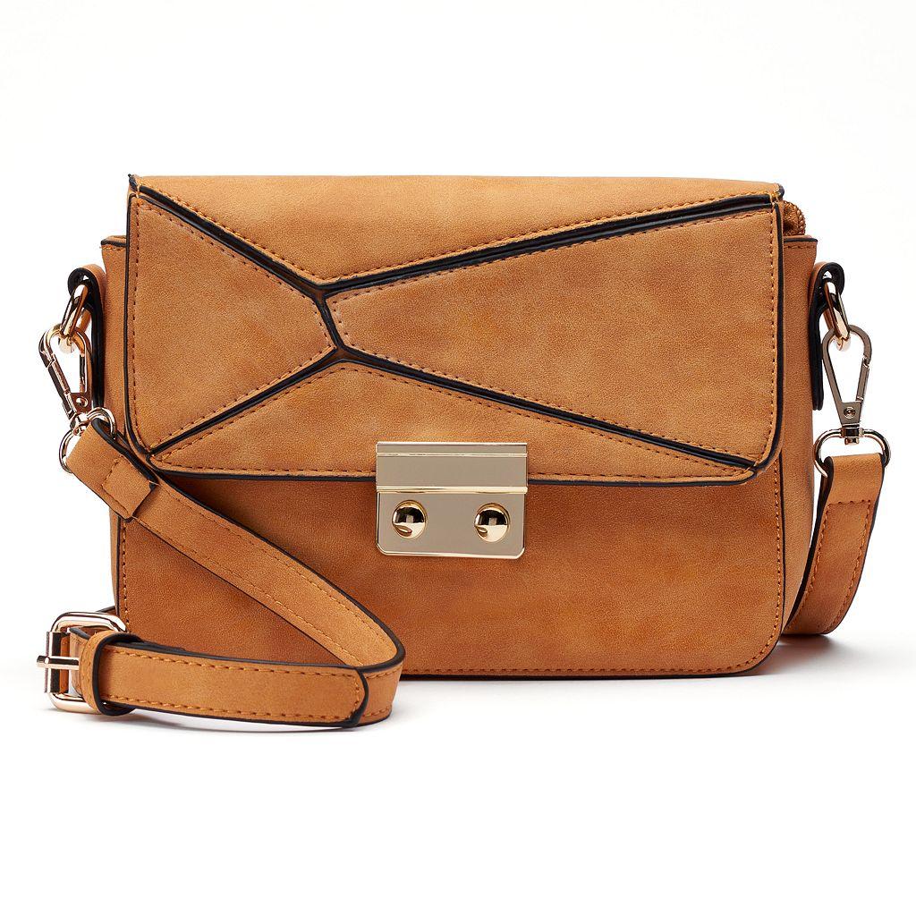 Mellow World Selena Asymmetrical Flap Crossbody Bag