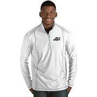 Men's Antigua Utah Jazz Tempo Quarter-Zip Pullover