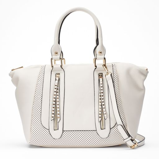 Mellow World Adeline Perforated Tote