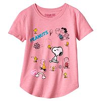 Girls 7-16 & Plus Size Peanuts Characters Graphic Tee