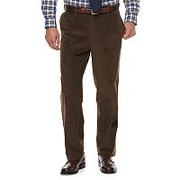 Men's Croft & Barrow® Classic-Fit Pleated Corduroy Pants