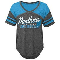 Juniors' Carolina Panthers Football Tee