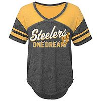 Juniors' Pittsburgh Steelers Football Tee