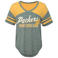 Juniors' Green Bay Packers Football Tee
