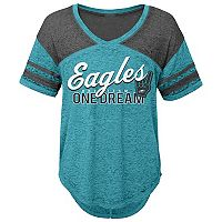 Juniors' Philadelphia Eagles Football Tee