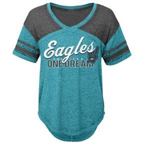 Juniors' Philadelphia Eagles Football Tee