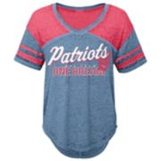 Juniors' New England Patriots Football Tee