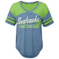 Juniors' Seattle Seahawks Football Tee