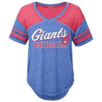 Juniors' New York Giants Football Tee