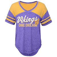 Juniors' Minnesota Vikings Football Tee