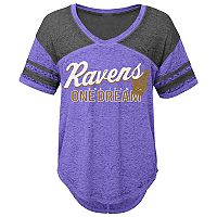 Juniors' Baltimore Ravens Football Tee