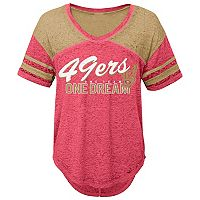 Juniors' San Francisco 49ers Football Tee