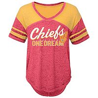 Juniors' Kansas City Chiefs Football Tee