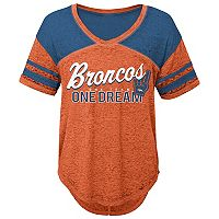 Juniors' Denver Broncos Football Tee