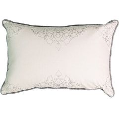 Beautyrest La Salle Foil Print Throw Pillow
