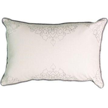 Beauty Rest La Salle Foil Print Throw Pillow