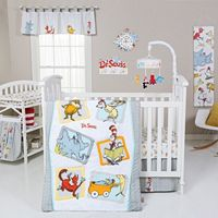 Dr. Seuss Friends 5 pc Crib Bedding Set by Trend Lab