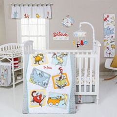 Dr. Seuss Friends 5-pc. Crib Bedding Set by Trend Lab