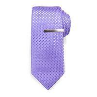 Men's Apt. 9® Nyla Plaid Skinny Tie