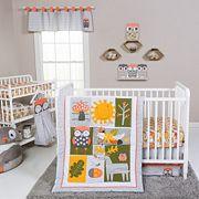 Trend Lab Olive Owl 5 pc Crib Bedding Set