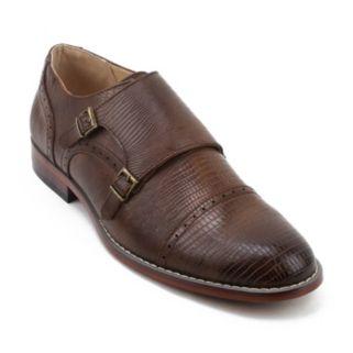 XRay Vermin Men's Monk Strap Dress Shoes