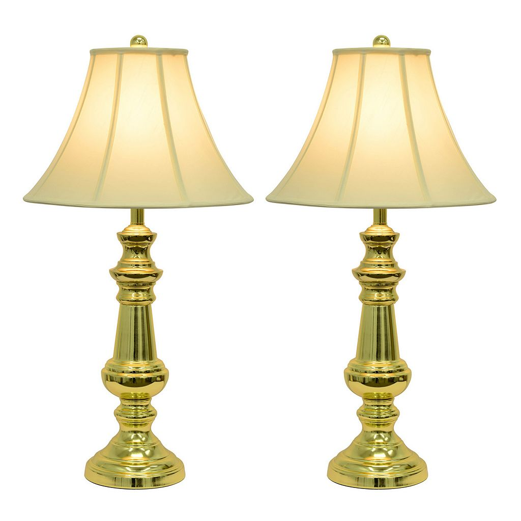 Decor Therapy Traditional Touch Table Lamp 2-piece Set