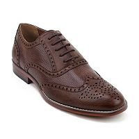 XRay Speck Men's Wingtip Dress Shoes