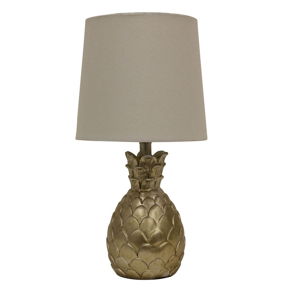 Decor Therapy Pineapple Table Lamp