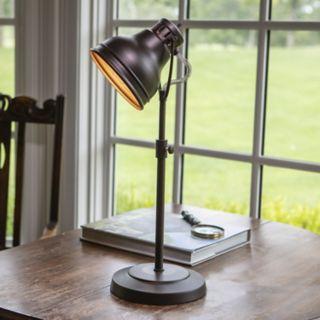 Decor Therapy Metal Desk Lamp