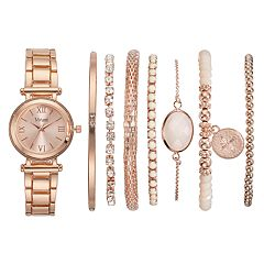 Vivani Women's Watch & Bracelet Set