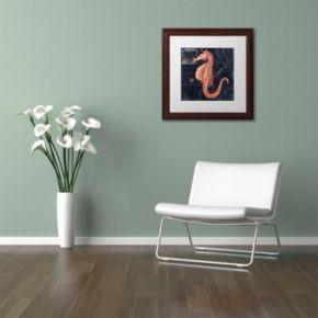 Trademark Fine Art Maritime Blues I Framed Wall Art