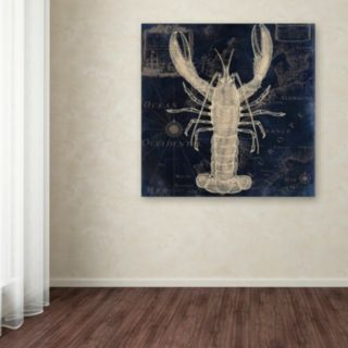 Trademark Fine Art Maritime Blues II Canvas Wall Art