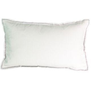Beautyrest Chacenay Faux Velvet Throw Pillow