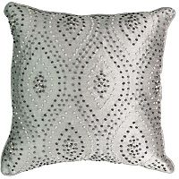 Beauty Rest Chacenay Knotted Embroidery Throw Pillow