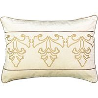 Beauty Rest Sandrine Embroidered Throw Pillow