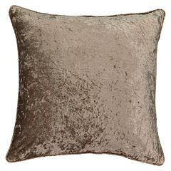 Beautyrest Sandrine Faux Velvet Throw Pillow