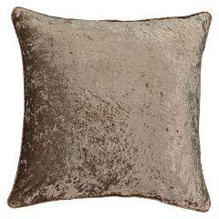 Beautyrest Sandrine Faux Velvet Throw Pillow