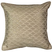 Beauty Rest Sandrine Eyelet Throw Pillow