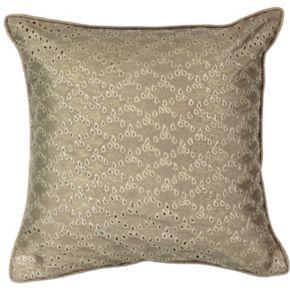 Beautyrest Sandrine Eyelet Throw Pillow