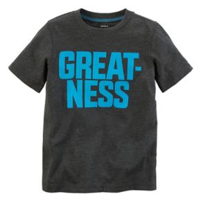 "Boys 4-7x Carter's ""Greatness"" Graphic Tee"
