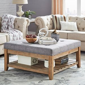 391 99 398 Regular 559 569 Homevance Contemporary Tufted Upholstered Coffee Table