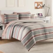 IZOD Hyde Plaid Comforter Set
