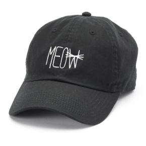 "Women's David & Young ""Meow"" Baseball Cap"