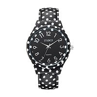 Studio Time Women's Polka Dot Cuff Watch